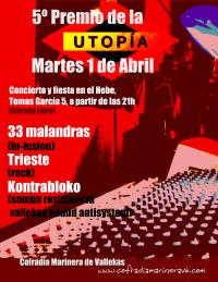 fiesta v premio a la utopia
