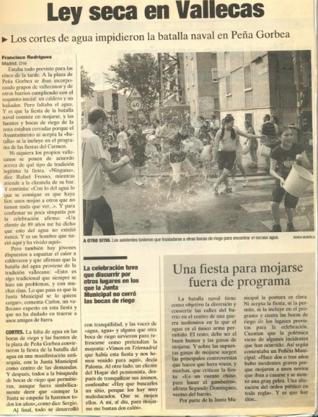 Ley seca en Vallecas