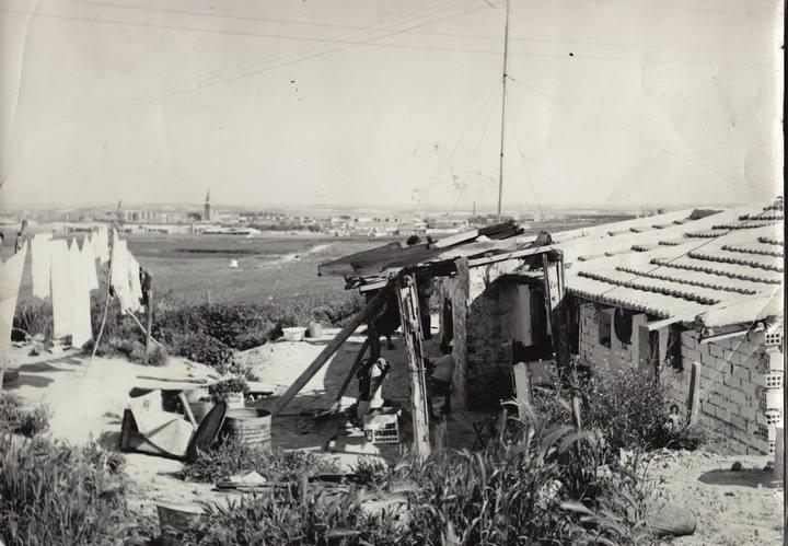 Cerro del Tío Pío, años '50