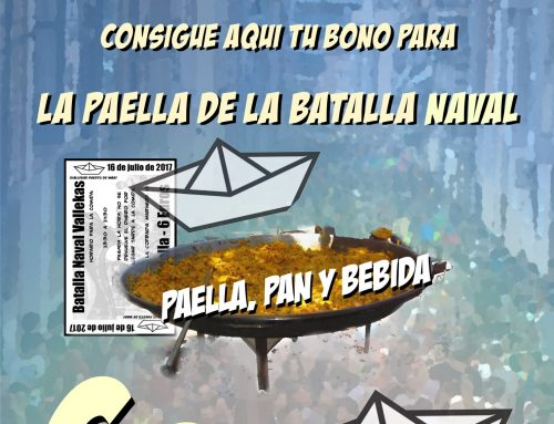 PAELLA DE LA BATALLA NAVAL 2017